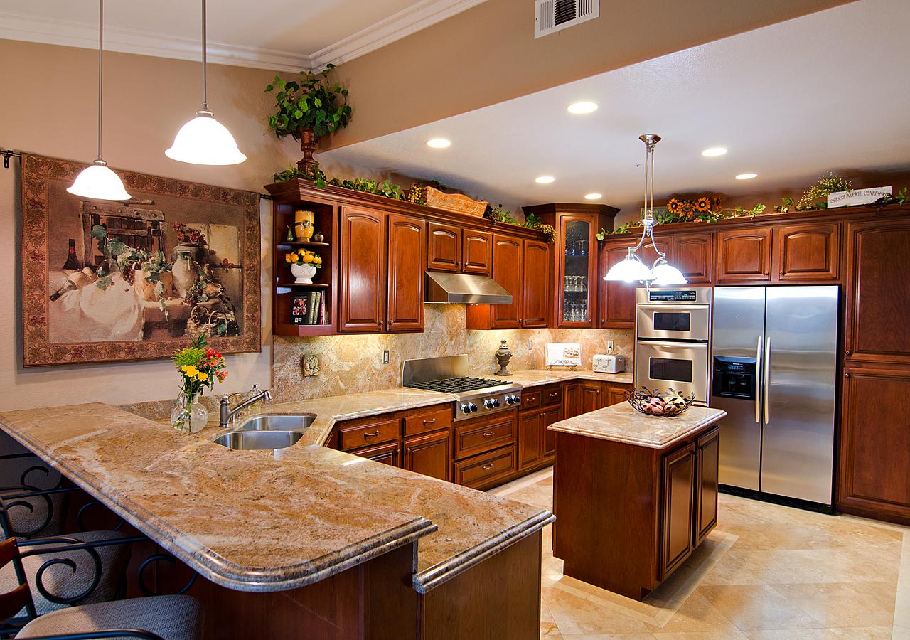 granite kitchen designs pictures photo - 8