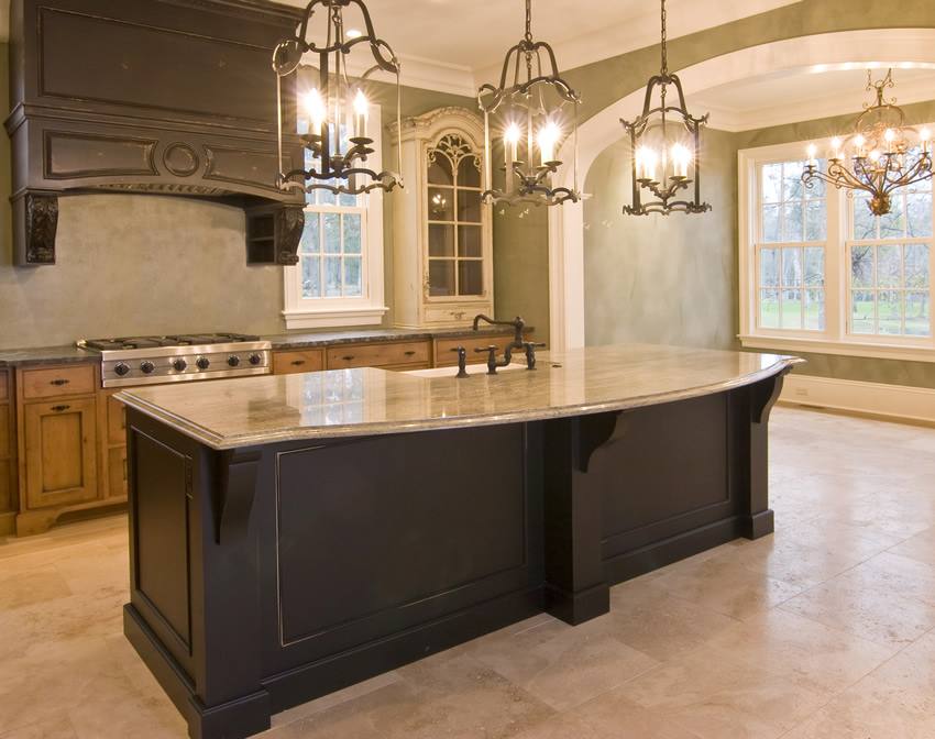 granite kitchen island designs photo - 10
