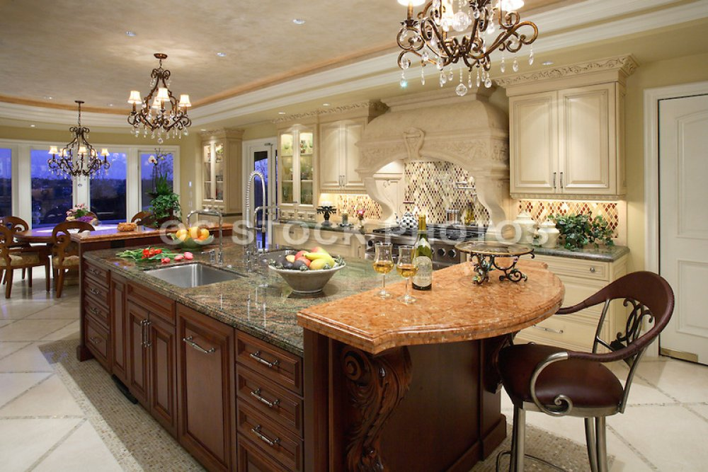 granite kitchen island designs photo - 2