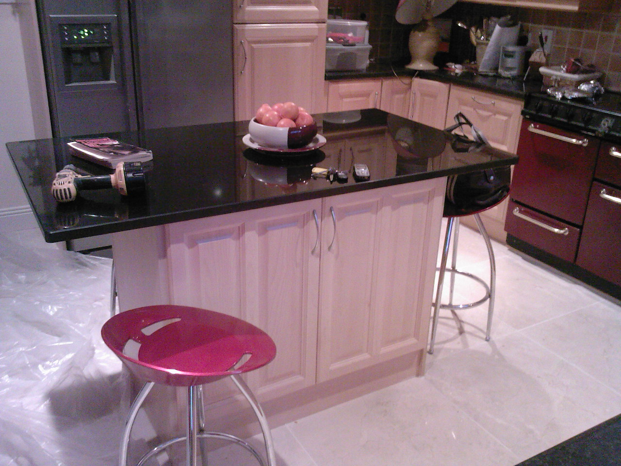 granite kitchen island designs photo - 3