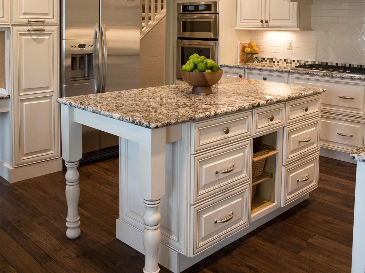 granite kitchen island designs photo - 6
