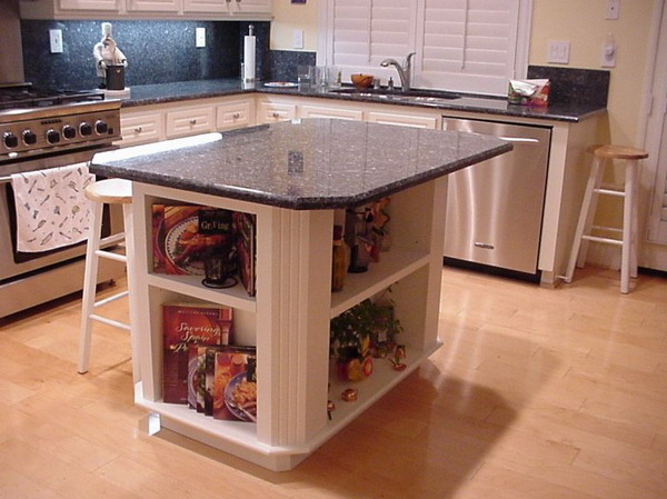 granite kitchen island designs photo - 7