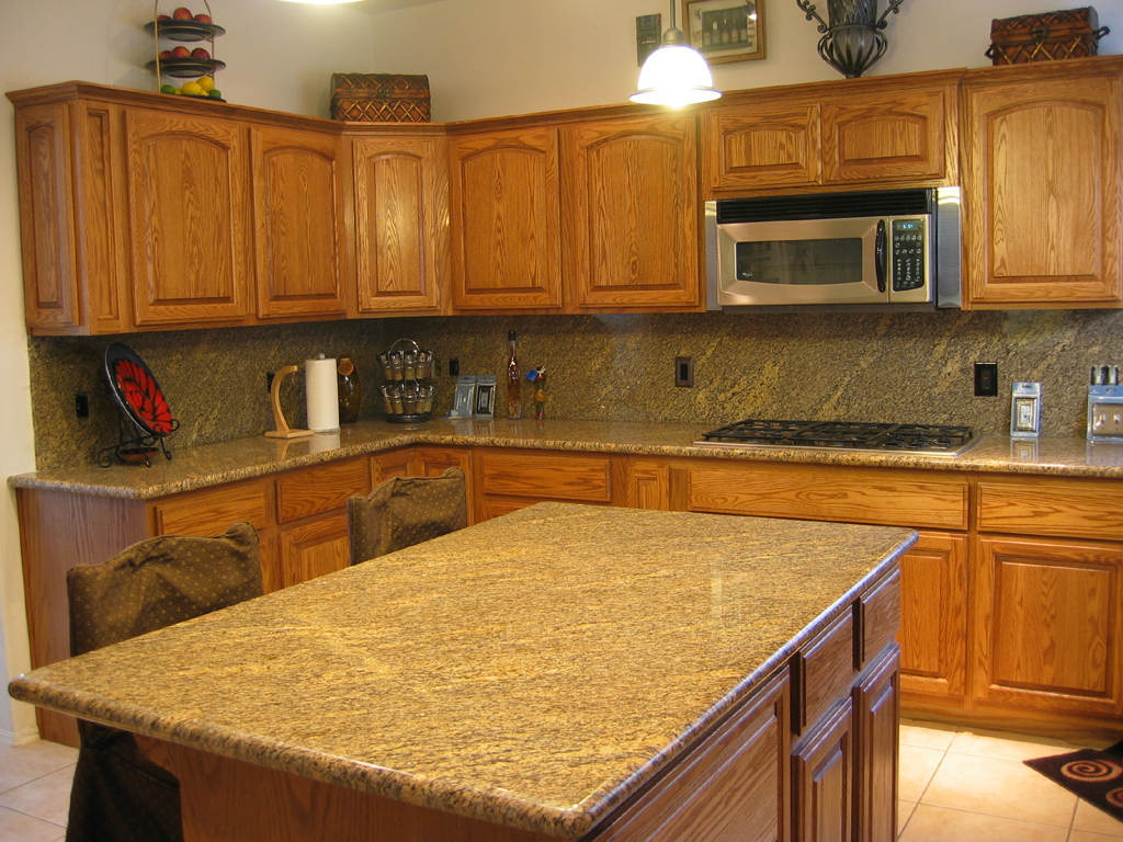 granite kitchen pics photo - 1