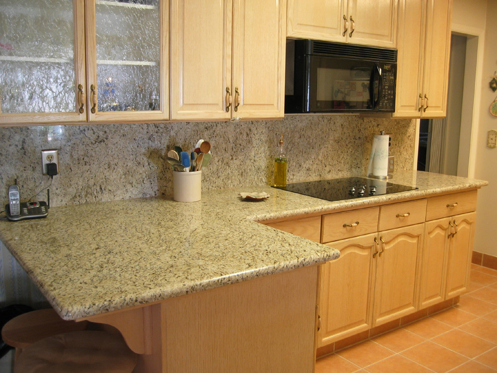 granite kitchen pics photo - 2