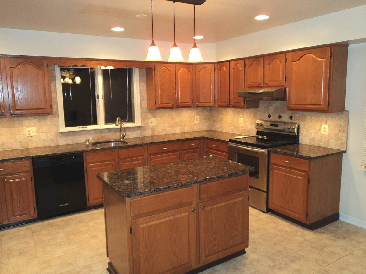 granite kitchen pics photo - 7