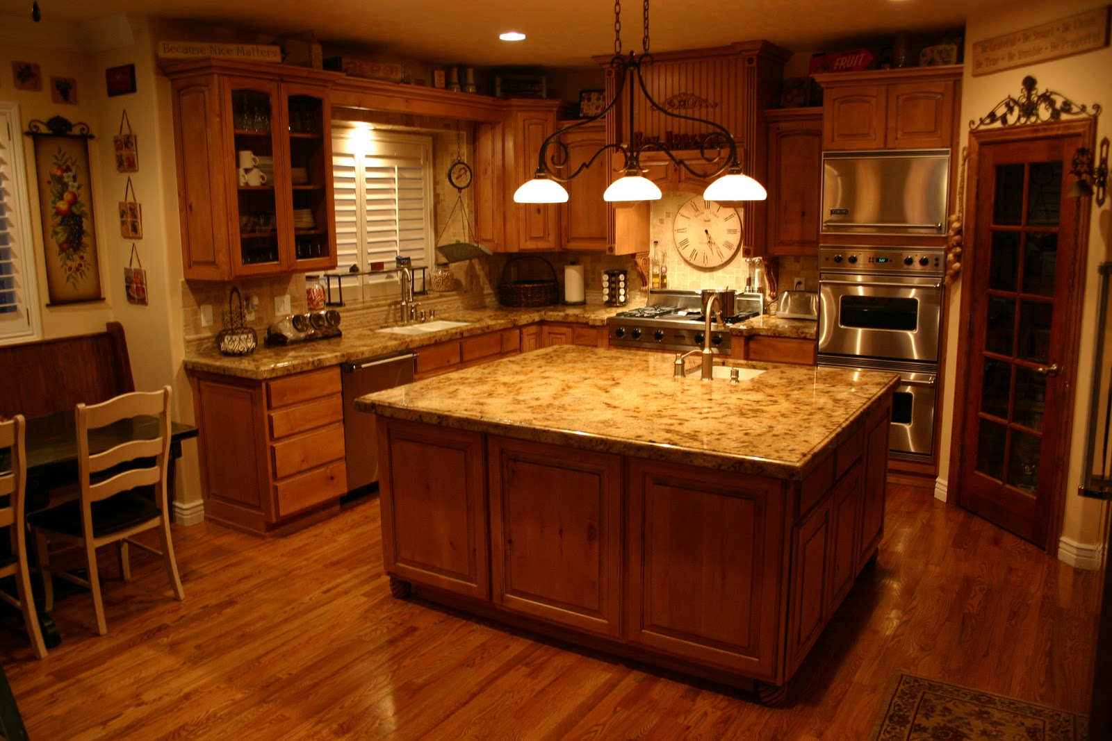 granite kitchen pictures photo - 2