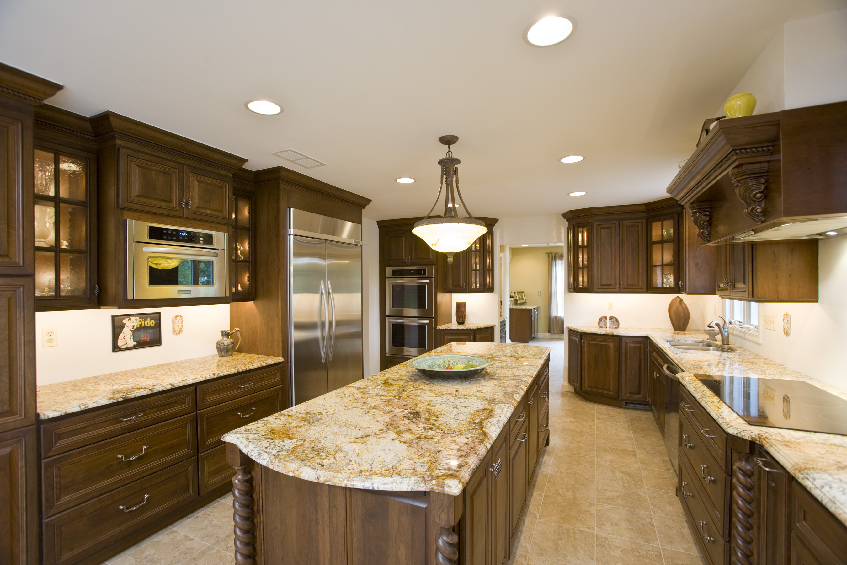 granite kitchen pictures photo - 3