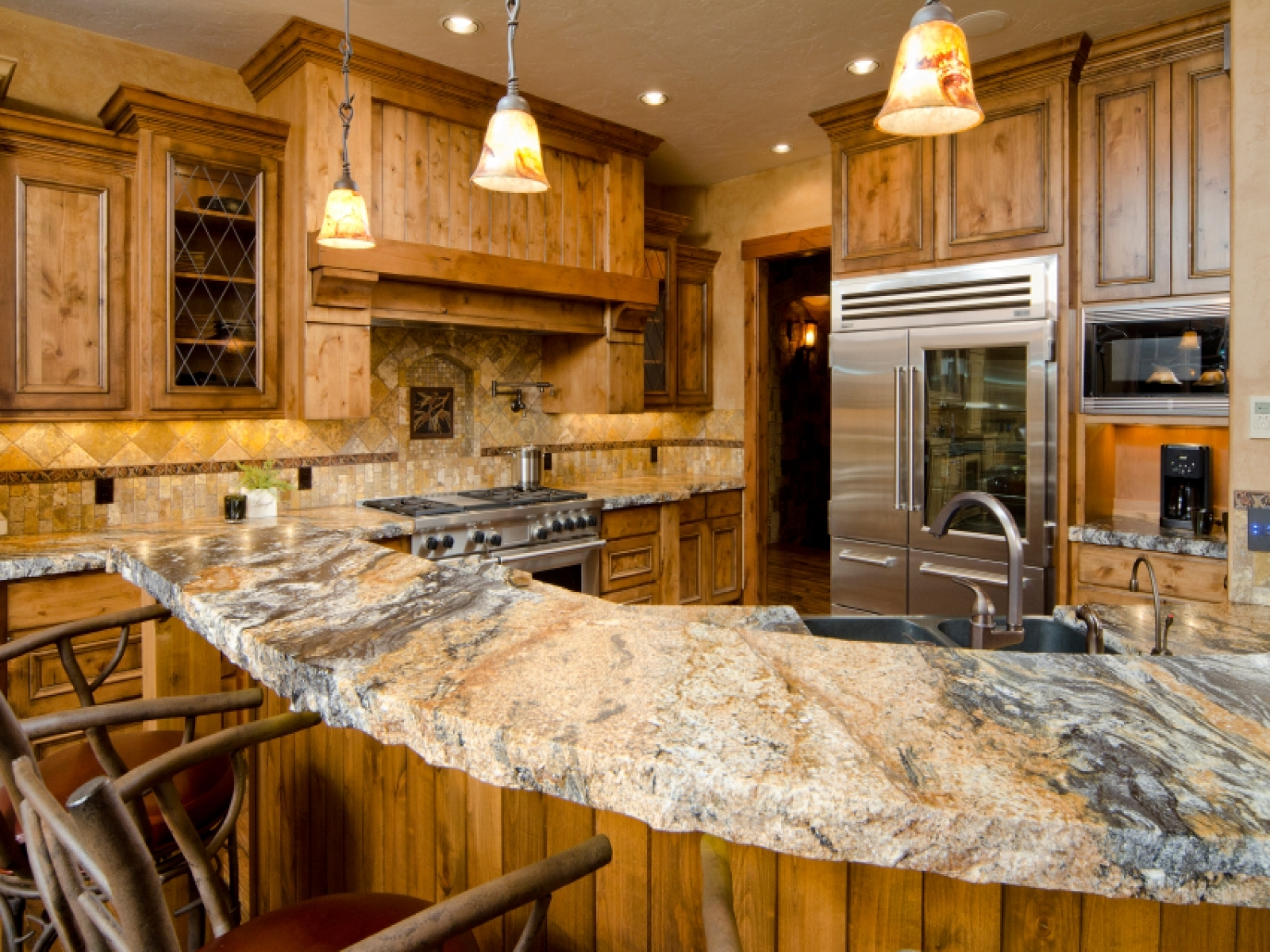 granite kitchen pictures photo - 7