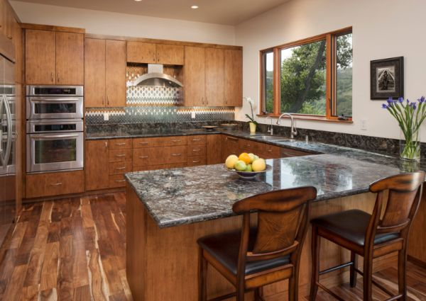 granite kitchen pictures photo - 9