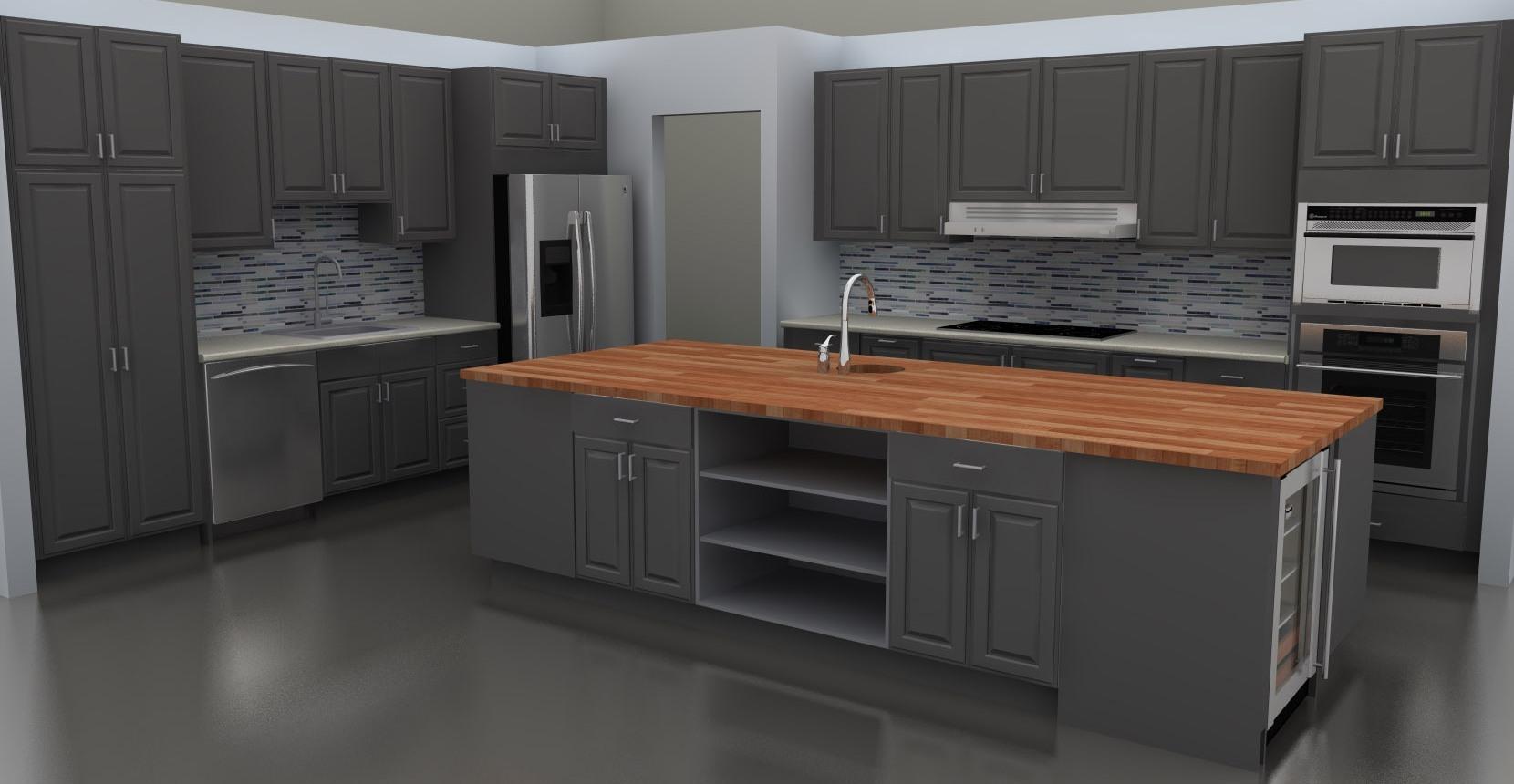 gray kitchen cabinets ideas photo - 10