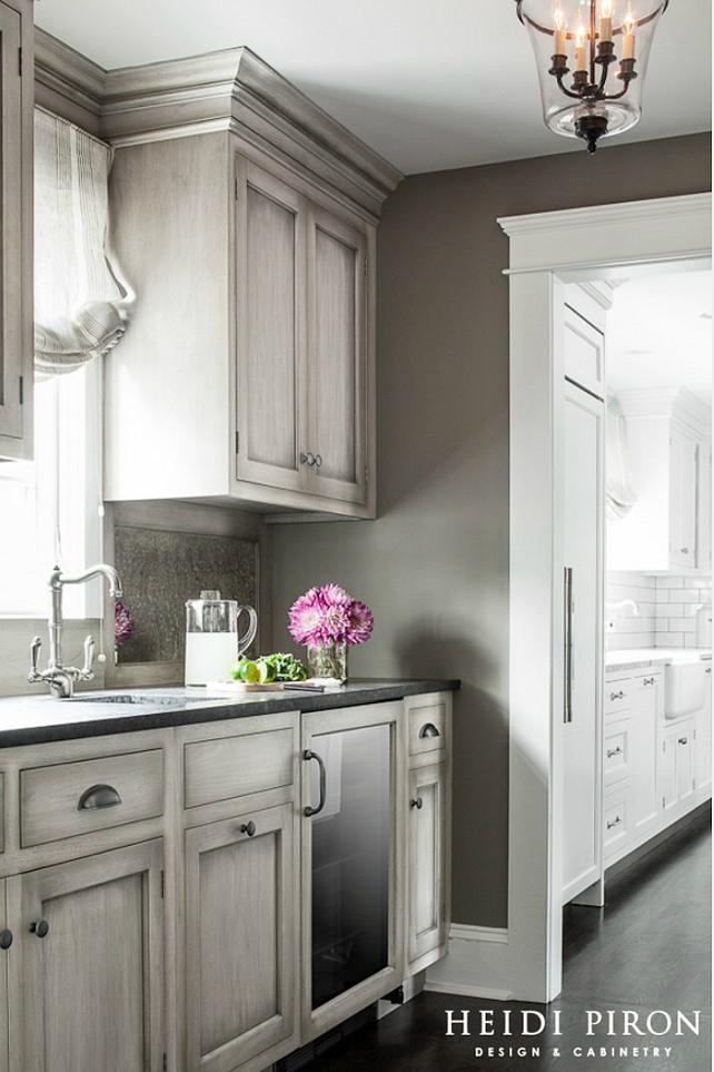 gray kitchen cabinets ideas photo - 4