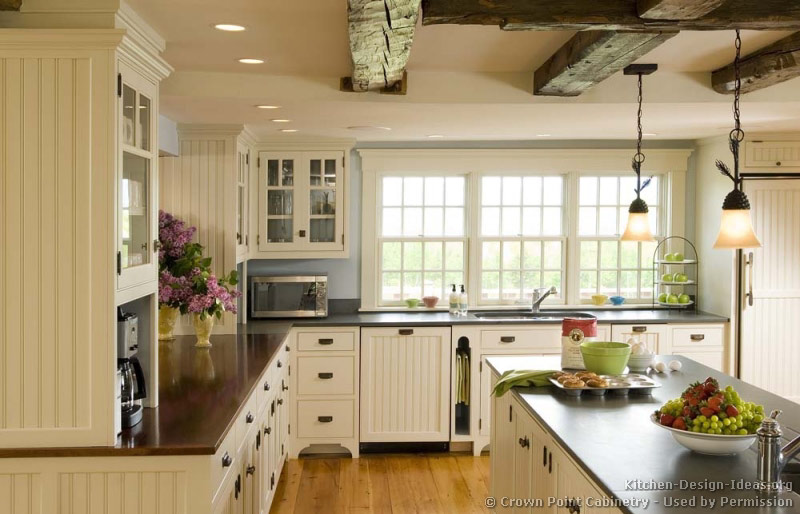 great country kitchen designs photo - 7