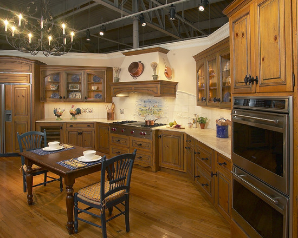 great country kitchen designs photo - 9