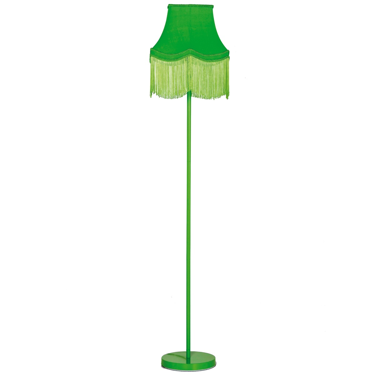 green bedroom lamp photo - 3