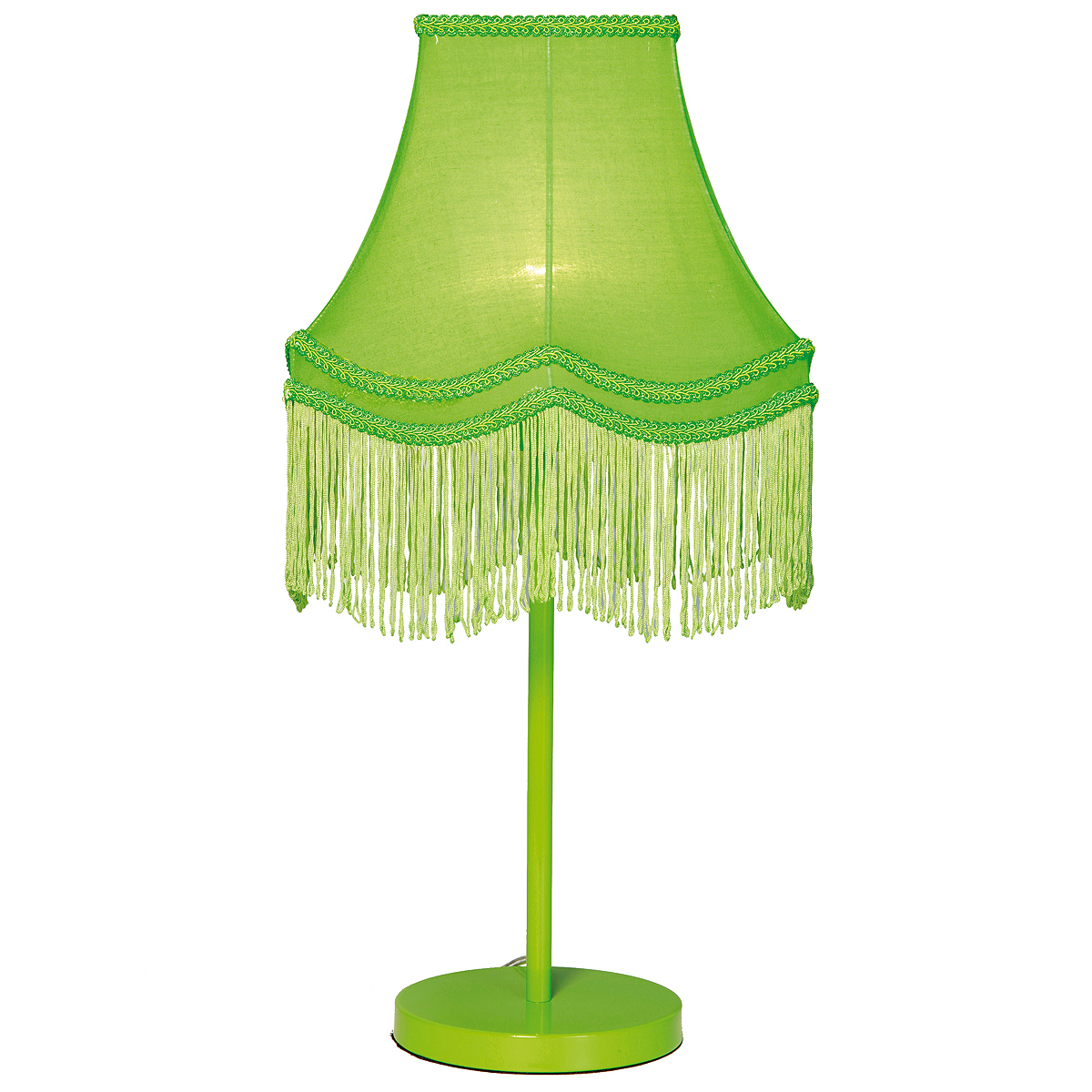 green bedroom lamp photo - 5