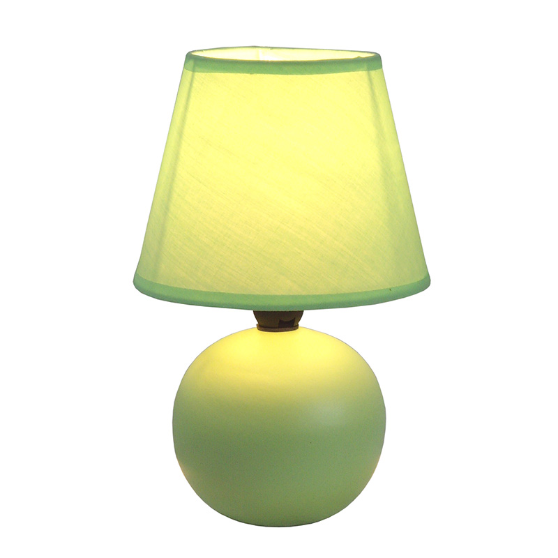 green bedroom lamp photo - 6