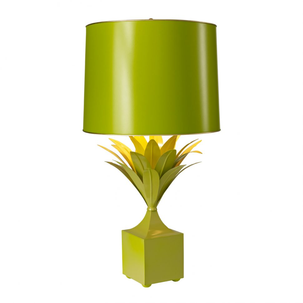 green bedroom lamp photo - 8