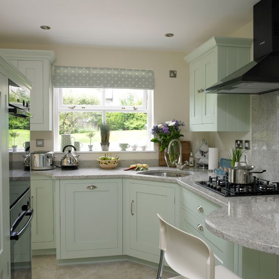 green country kitchen designs photo - 9