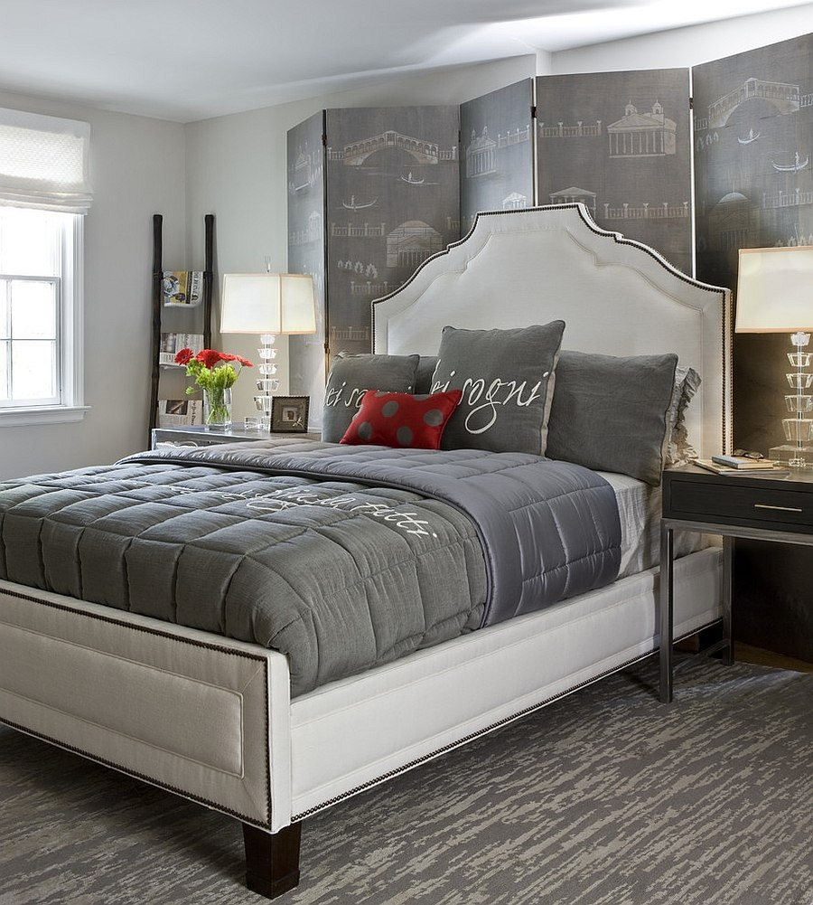 grey bedding ideas photo - 2