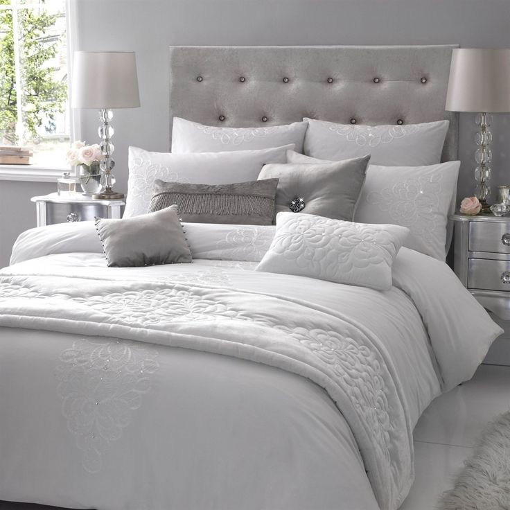 grey bedding ideas photo - 3