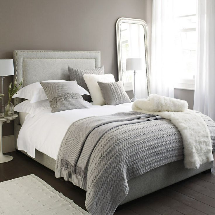 grey bedding ideas photo - 4