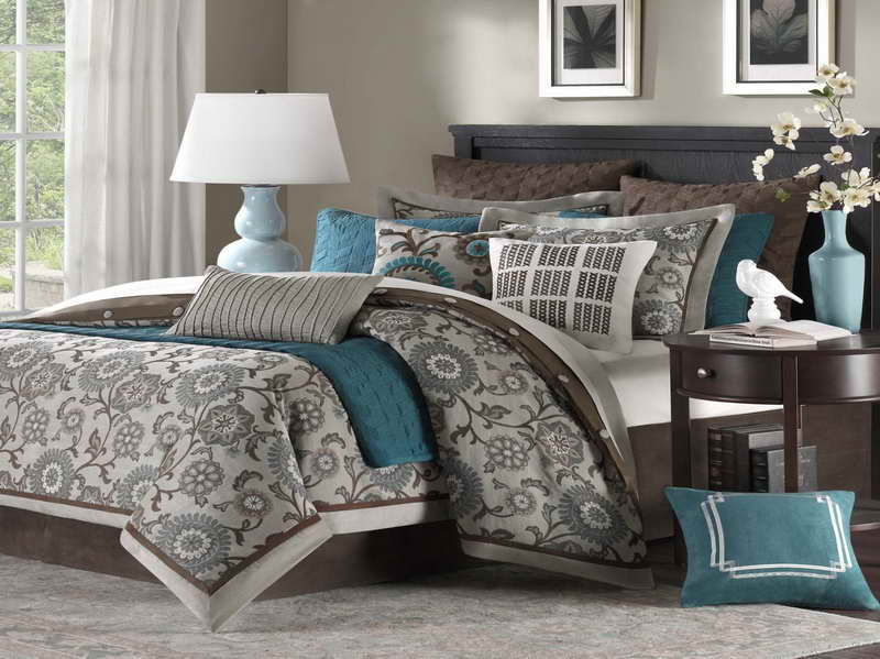 grey bedding ideas photo - 9