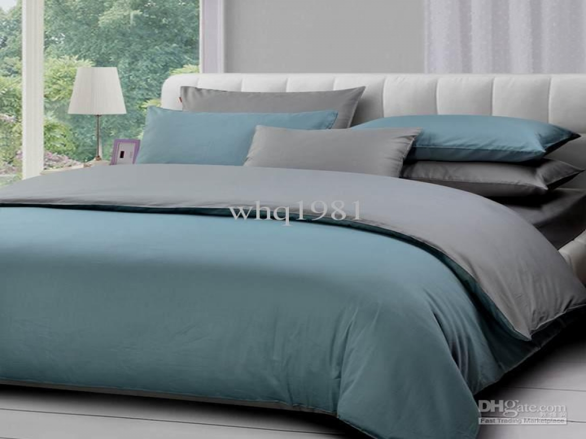 grey bedding ideas design photo - 3
