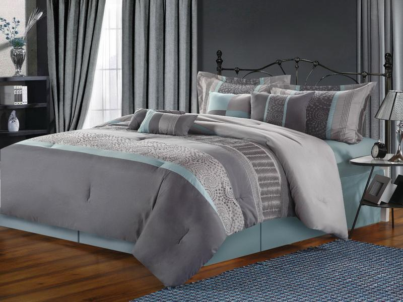 grey bedding ideas design photo - 6
