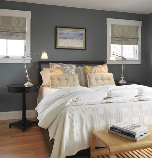grey bedrooms images photo - 3