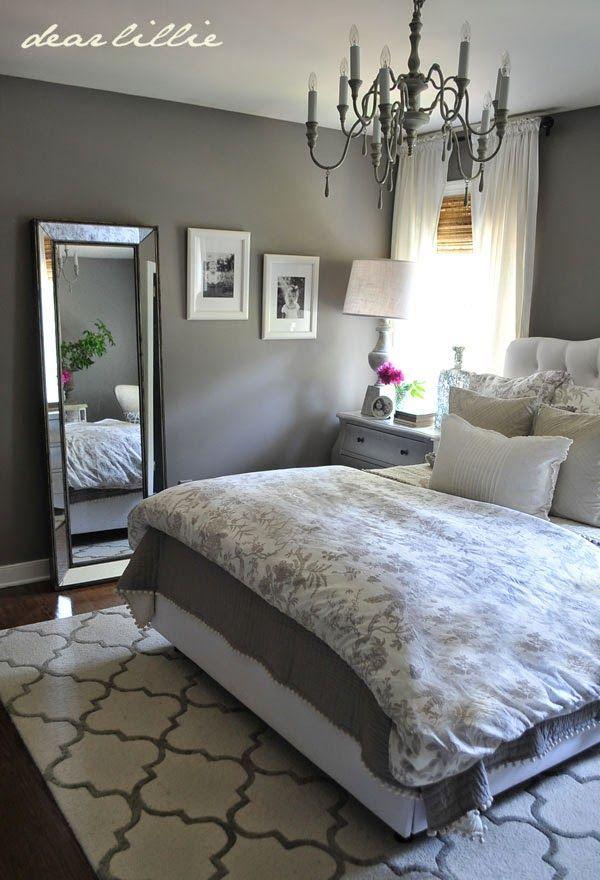 grey bedrooms images photo - 4