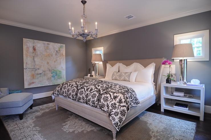 grey bedrooms images photo - 5