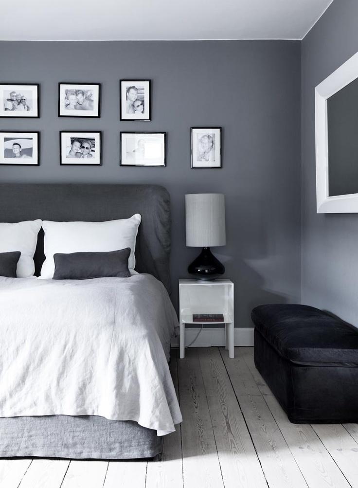 grey bedrooms images photo - 6