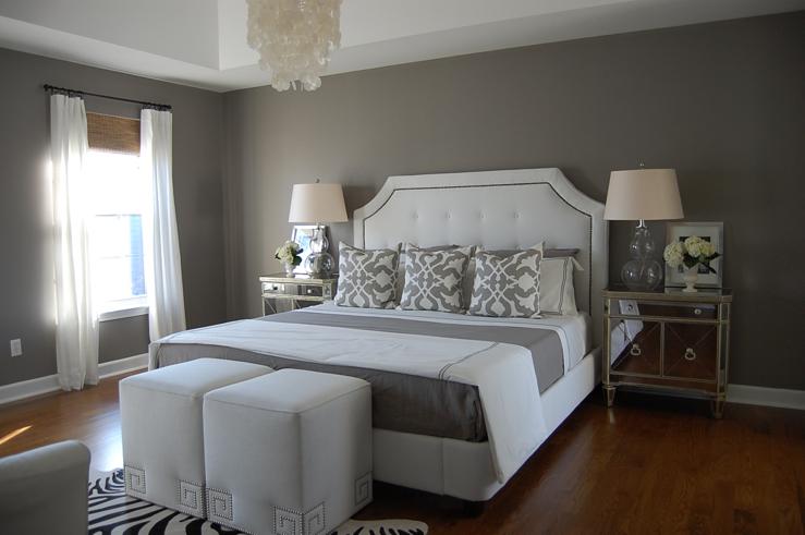 grey bedrooms images photo - 7