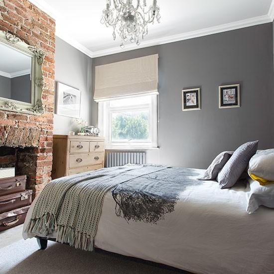 grey bedrooms images photo - 9