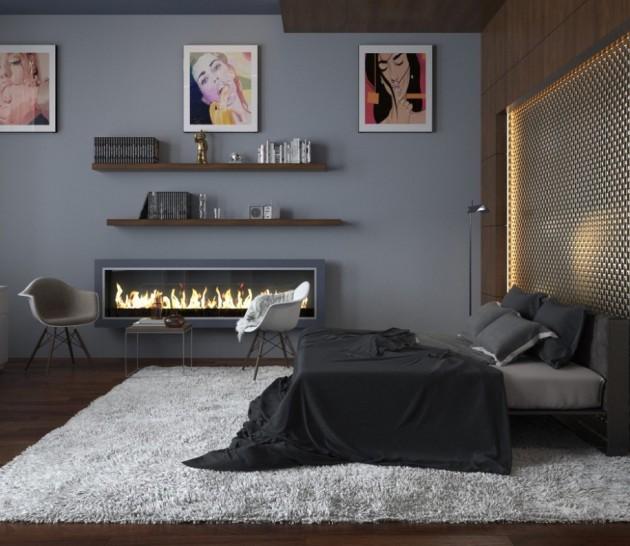 grey room design ideas photo - 10