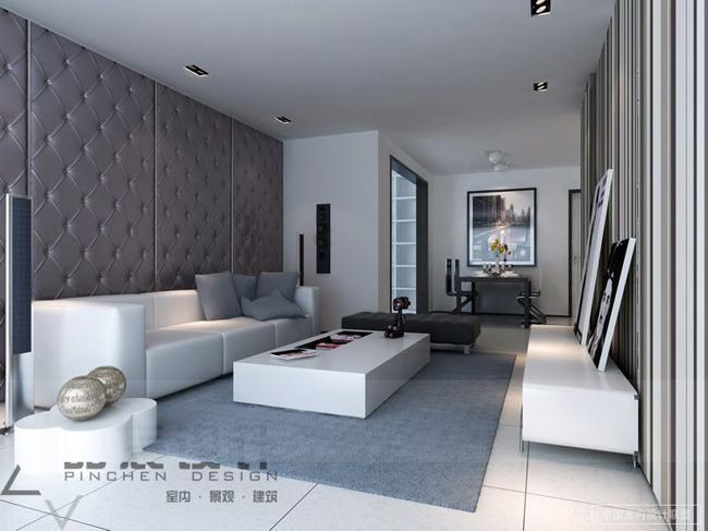 grey room design ideas photo - 6