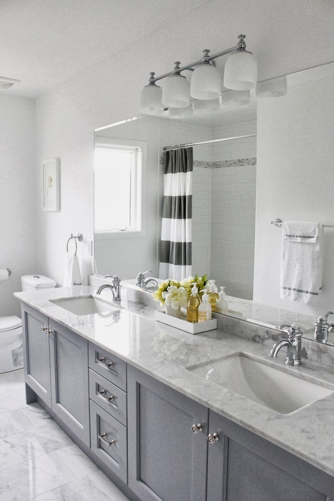 grey spa bathroom ideas photo - 2