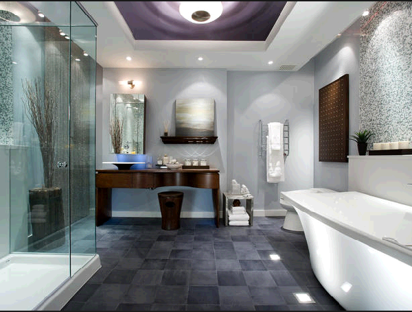 grey spa bathroom ideas photo - 5