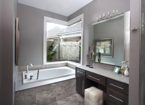 grey spa bathroom ideas photo - 6