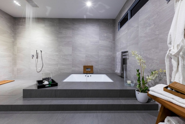 grey spa bathroom ideas photo - 7