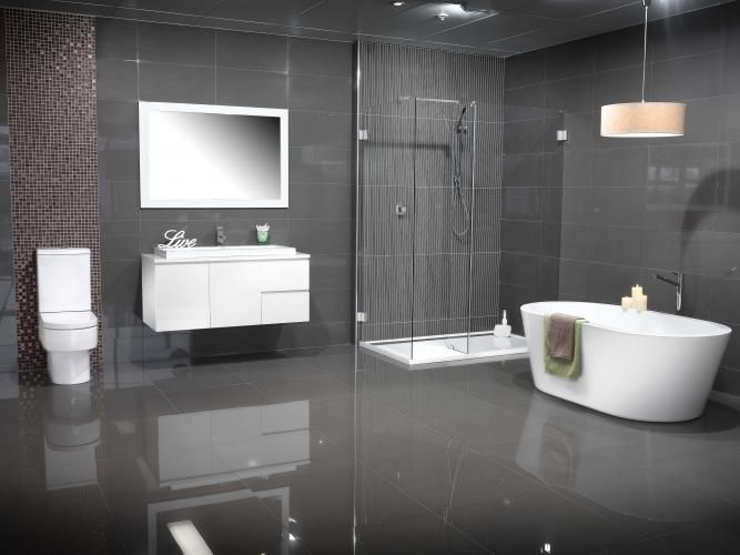 grey spa bathroom ideas photo - 9