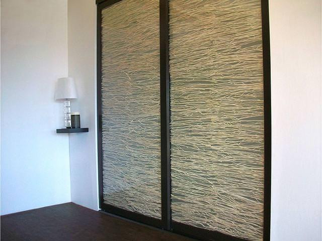hanging door room divider photo - 10