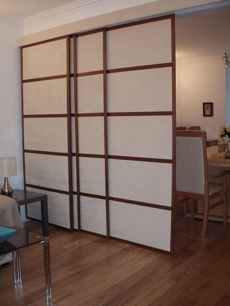 hanging door room divider photo - 9