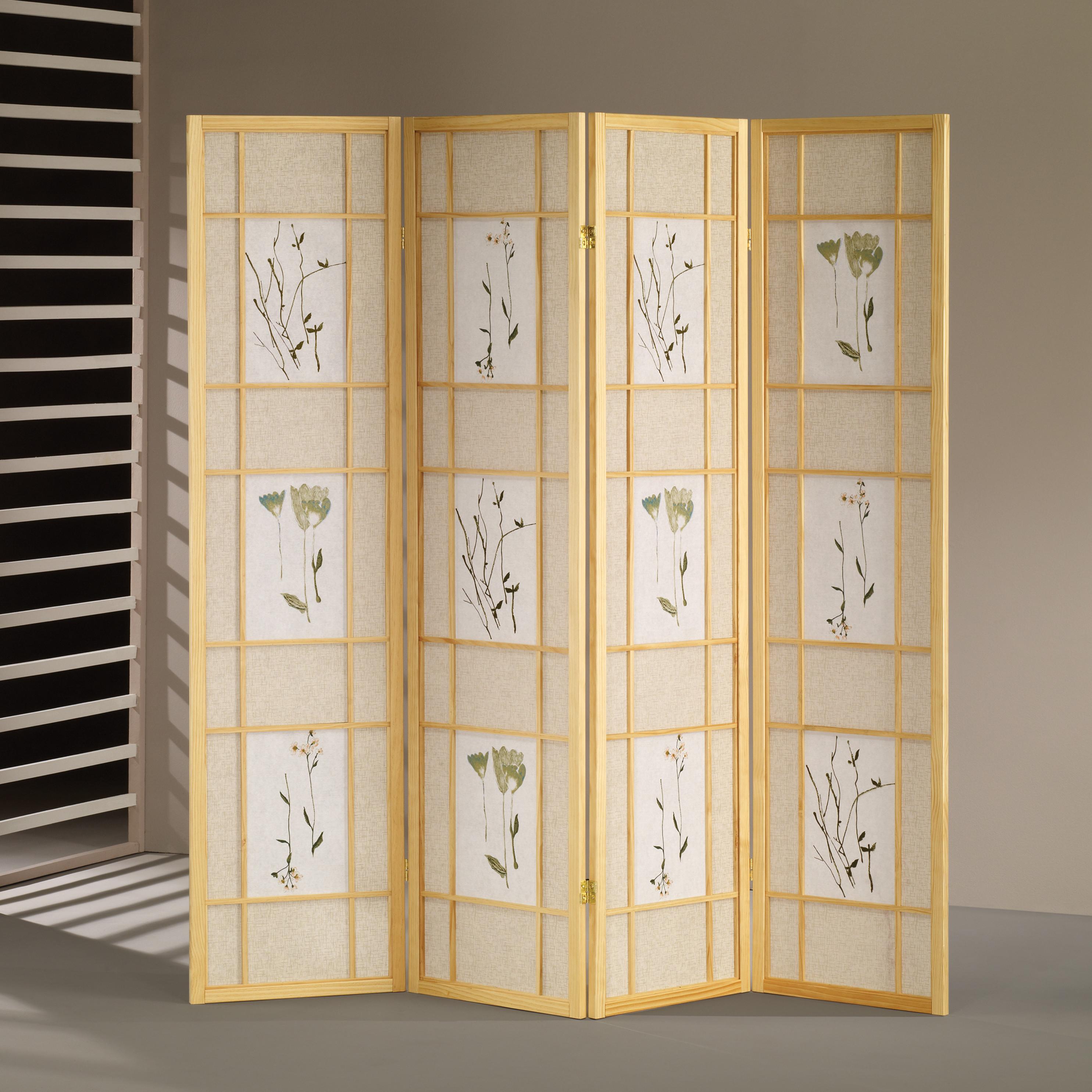 hanging room divider panels photo - 10