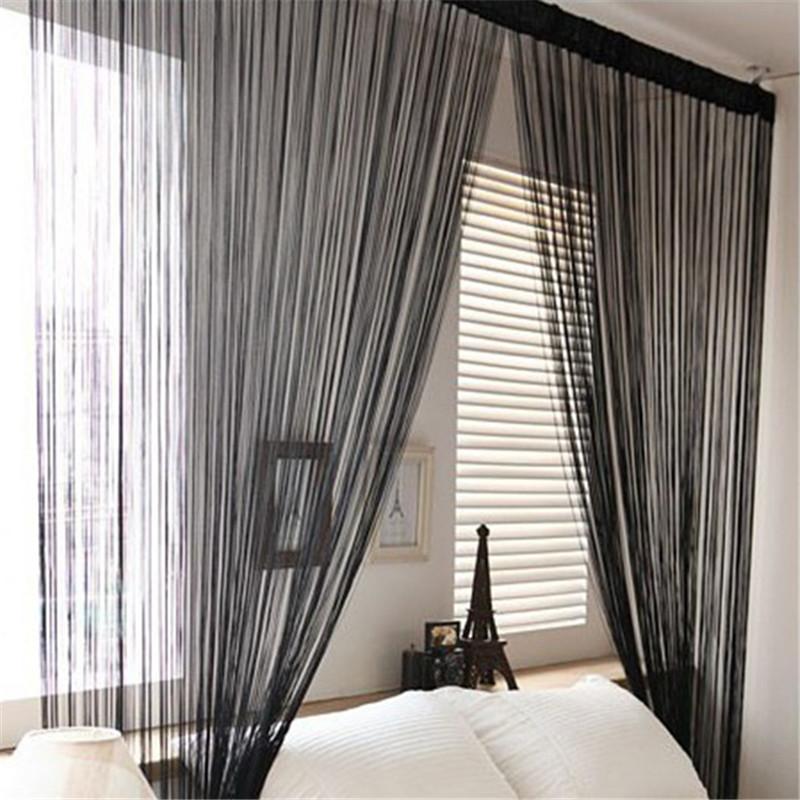 hanging room divider panels photo - 7