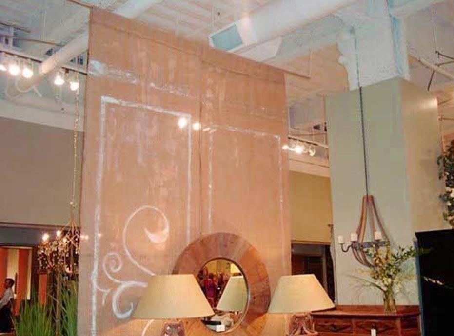 hanging room divider panels ikea photo - 2