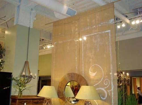 hanging room divider panels ikea photo - 8