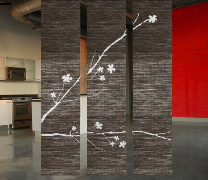 hanging room divider screen photo - 1