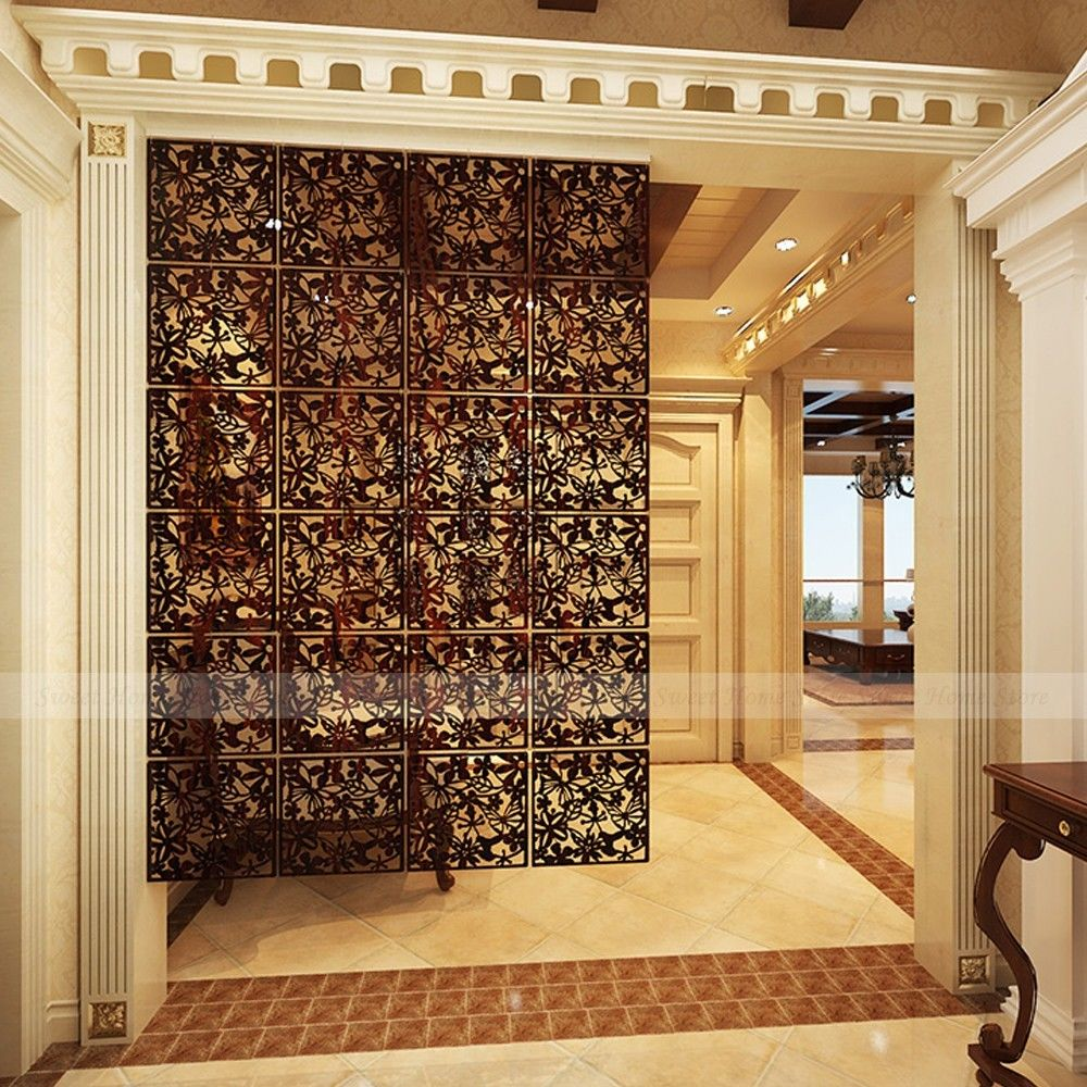 hanging room divider screen photo - 6