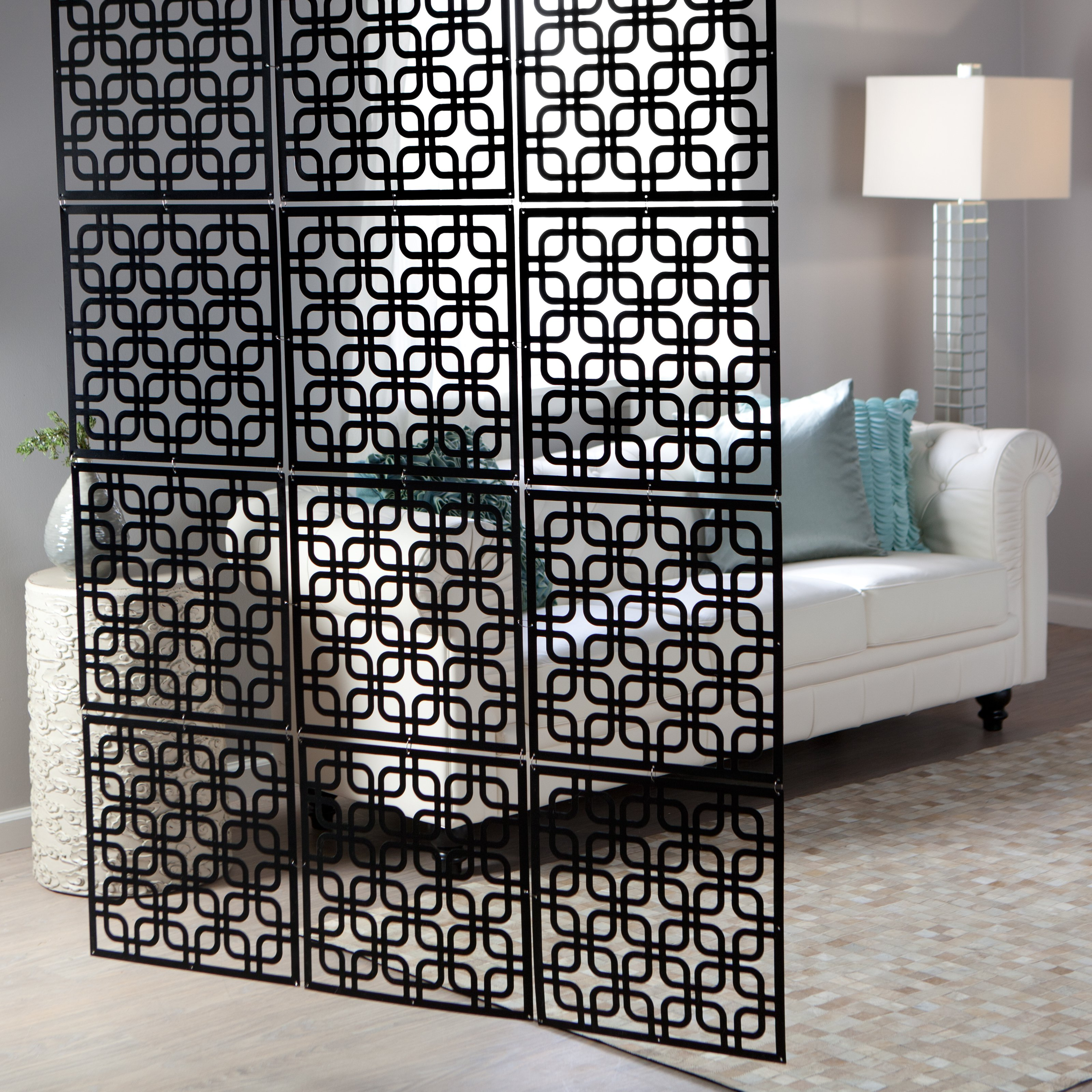 hanging room divider screen photo - 8